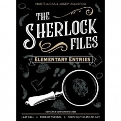 Sherlock Files Elementary...