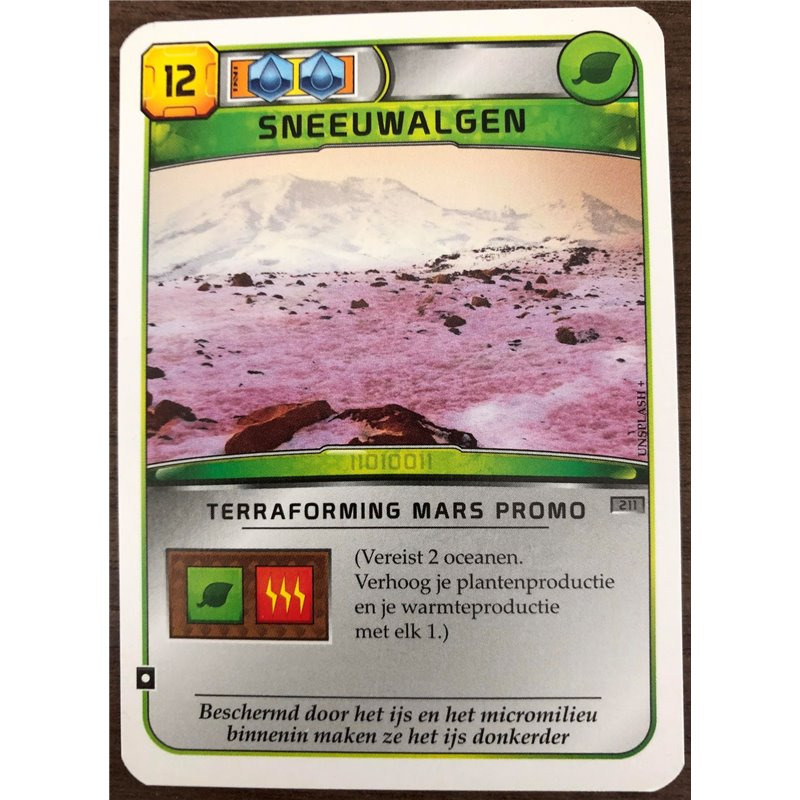Terraforming Mars: Sneeuwalgen