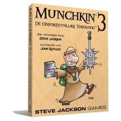 Munchkin: 3 De Onfortuinlijke Theoloog