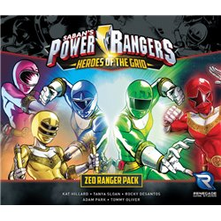 Power Rangers Heroes of the Grid: Zeo Ranger Pack