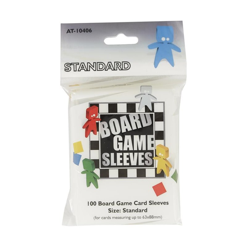 AT Sleeves - Clear - Standard (63x88mm)