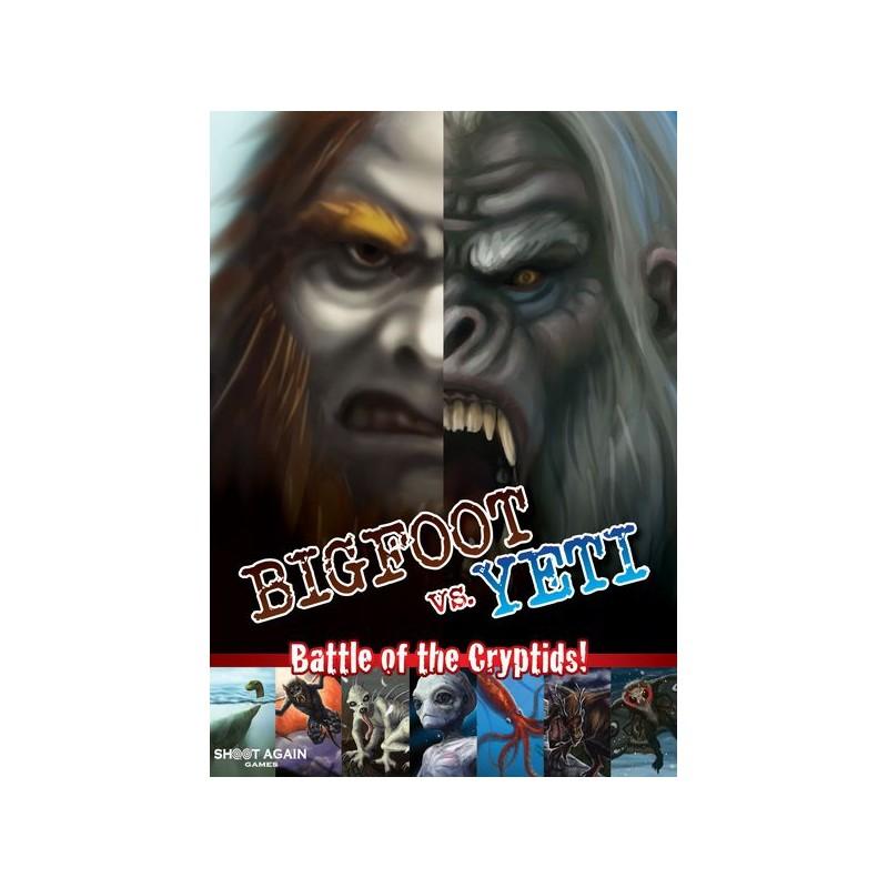 Bigfoot Vs. Yeti