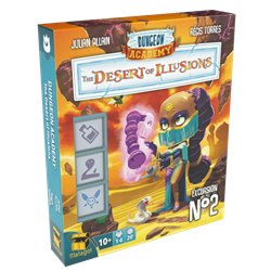 Dungeon Academy: The Desert of Illusions