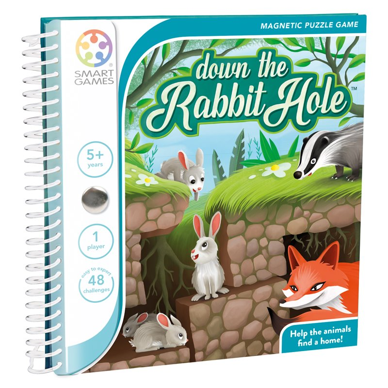 Magnetic Travel Games: Down the Rabbit Hole