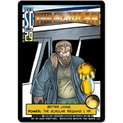 Sentinels of the Multiverse: Scholar