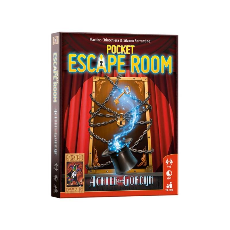 Pocket Escape Room: Achter het Gordijn