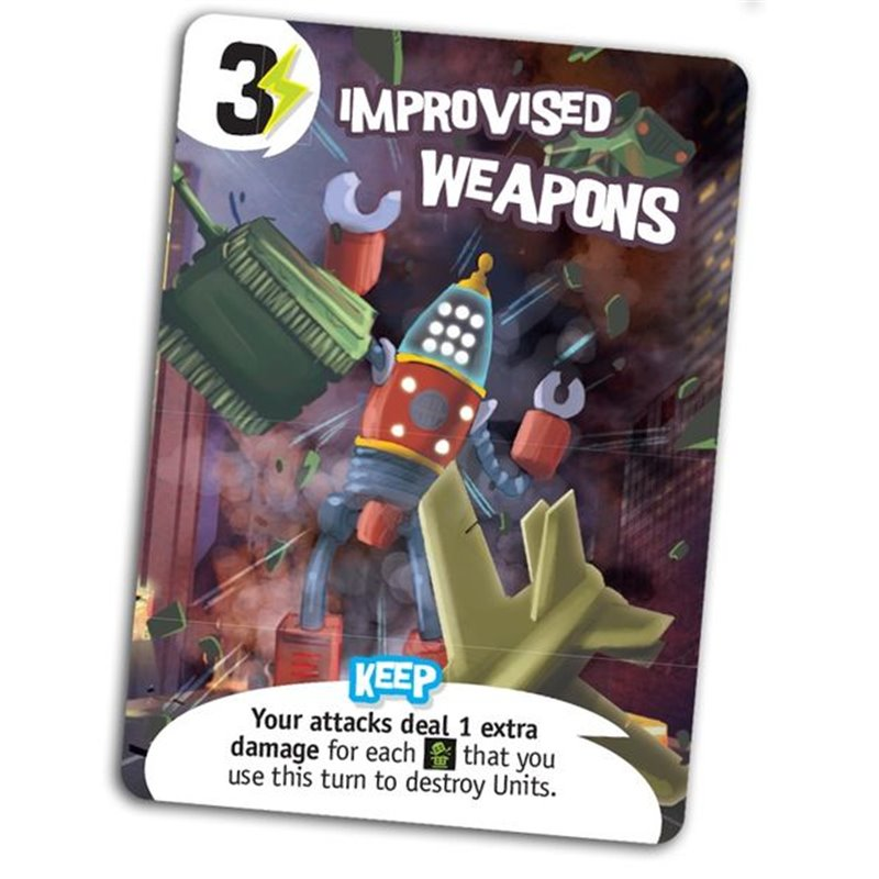 King of New York: Improved Weapons