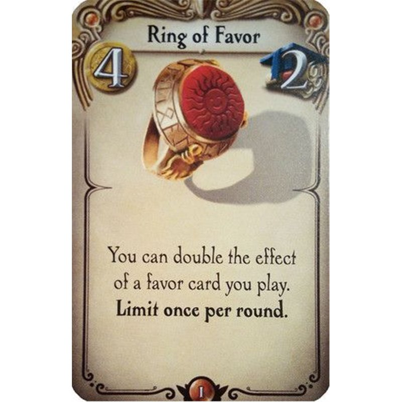 Alchemists: Ring of Favor