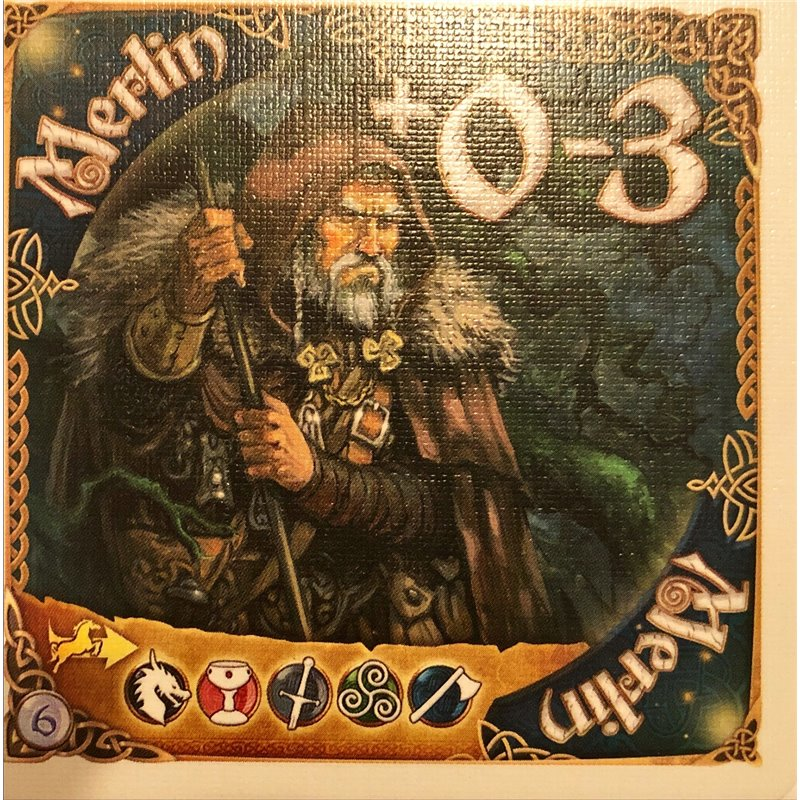 Shadows over Camelot The Card Game: Merlin