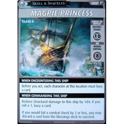 "Pathfinder Adventure Card Game: Skull & Shackles – ""Magpie Princess"""