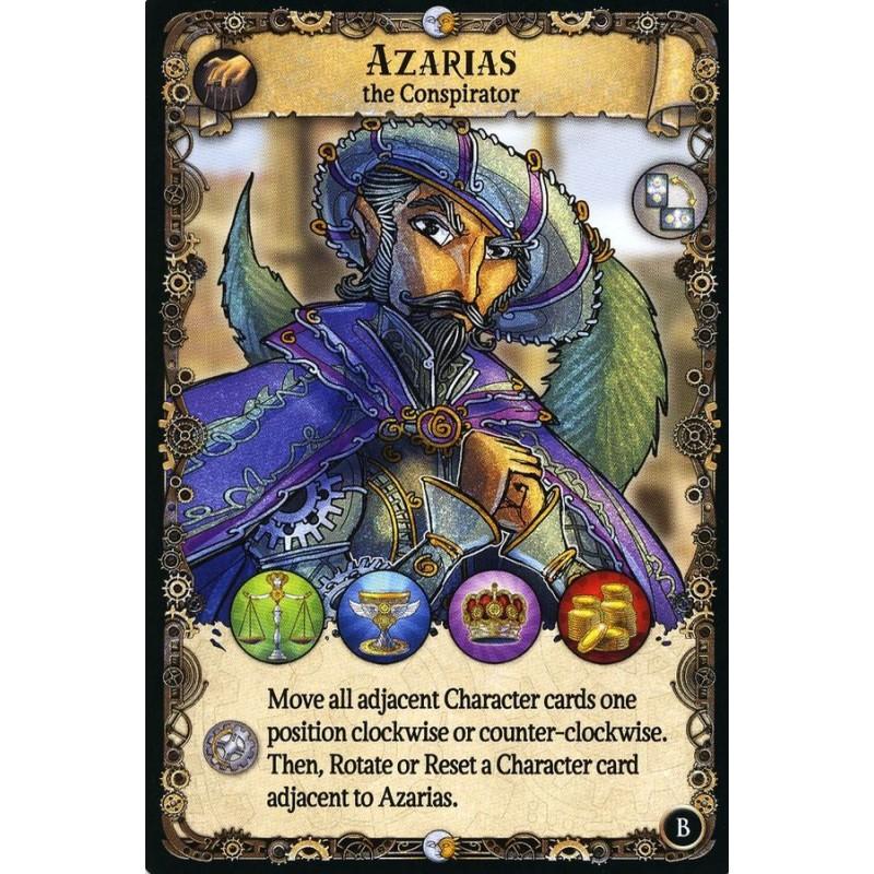 Shadows over the Empire: Azarias