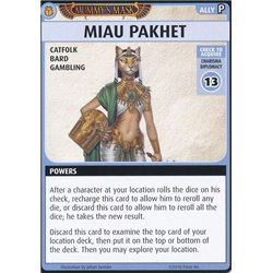 Pathfinder Adventure Card Game: Mummy's Mask – Miau Pakhet