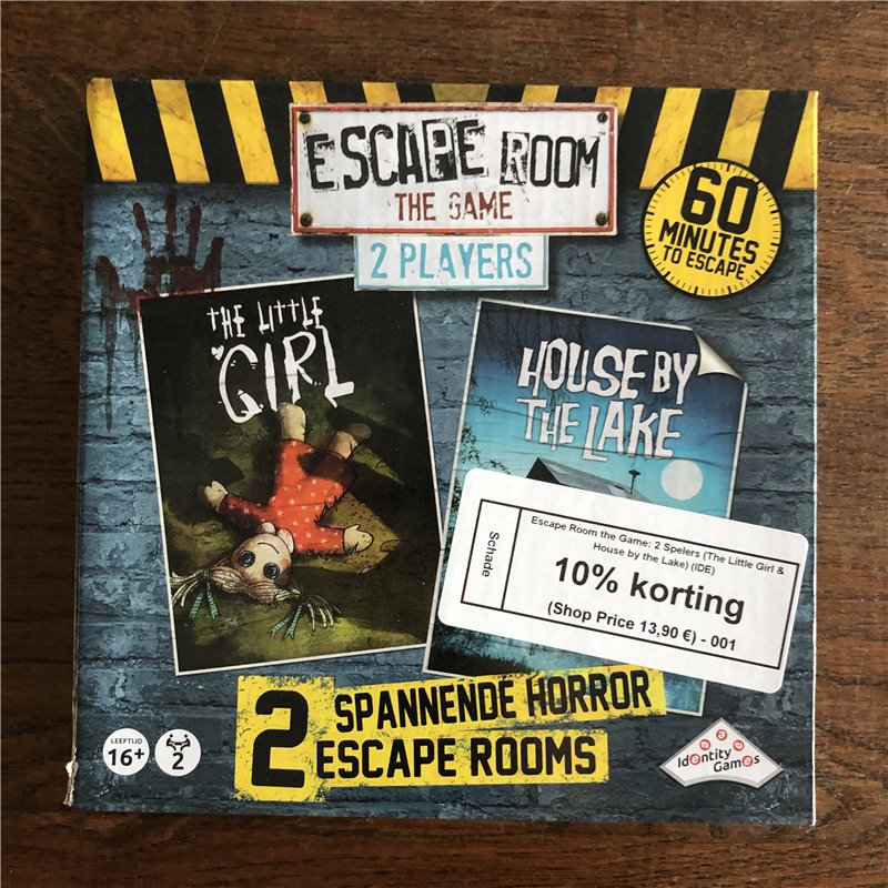 SCHADE: Escape Room the Game: 2 Spelers (The Little Girl & House by the Lake)