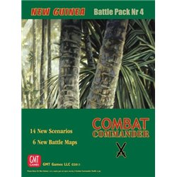 Combat Commander Battle Pack 4 New Guinea