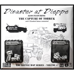 Memoir '44: Battle map - Disaster at Dieppe