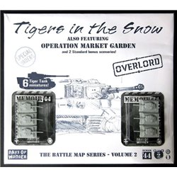 Memoir '44: Battle map - Tigers in the Snow