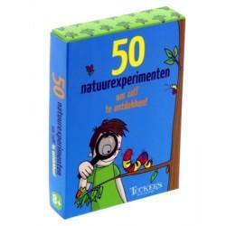50 natuurexperimenten om...