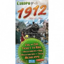 Ticket to Ride Europe: 1912