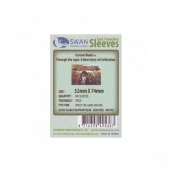 Swan Sleeves (Thick) 52x74...