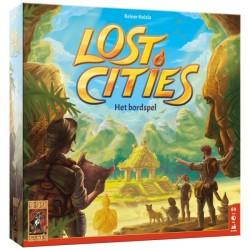 Lost cities het Bordspel